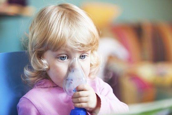 Ингаляции на основе физраствора приведут к выздоровлению детей