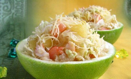 вкусный салат с добавлением свити
