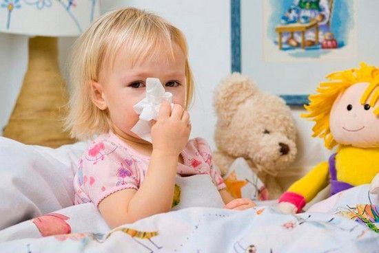 Чем лечить сопли у ребенка 2 года