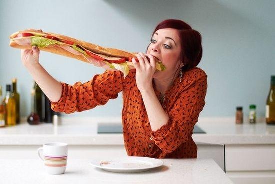 Жирная пища - вредная привычка