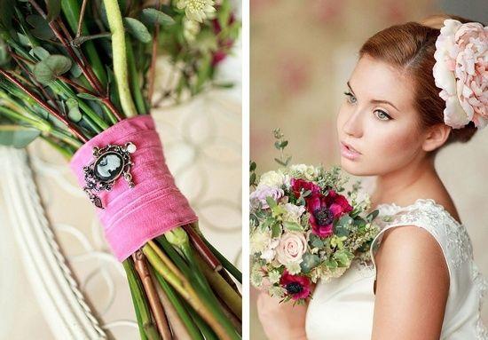 Свадьба в стиле шебби шик - макияж