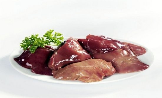Куриные субпродукты: польза и вред печени