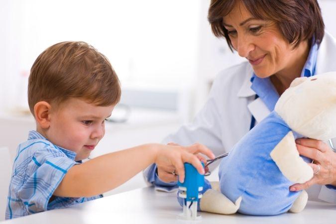 Лечение бородавок у детей.