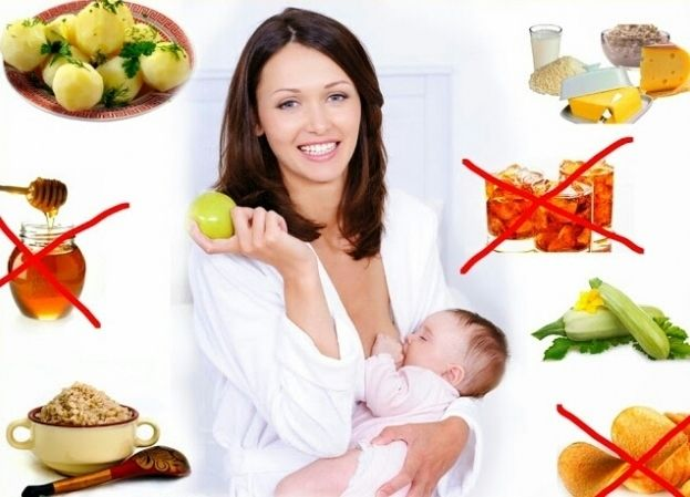 Что нельзя есть кормящей матери: список продуктов