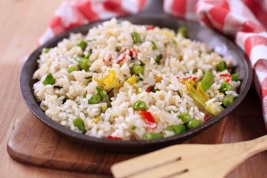 Когда есть в течение дня рис?