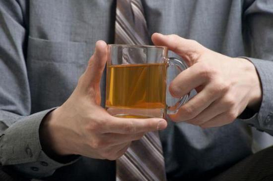 Воздействие чая с мятой на мужчин