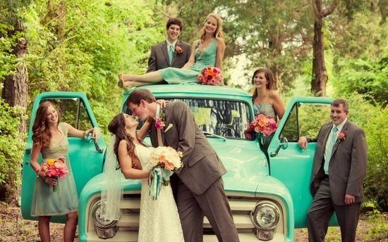 Свадьба в стиле шебби шик - авто
