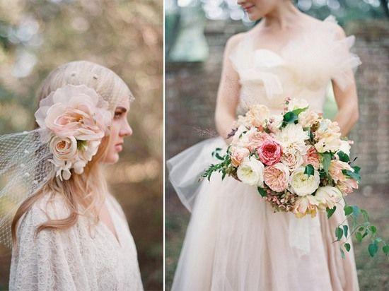 Свадьба в стиле шебби шик - платье