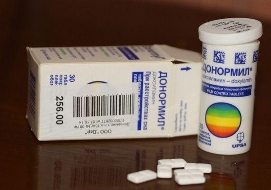 """Список безрецептурных снотворных препаратов для пожилых людей: """"Донормил"""""""