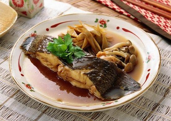 отварная рыба на ужин