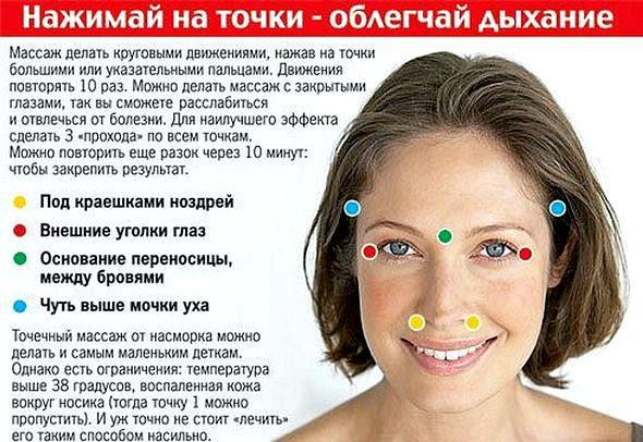 Как избавиться от насморка и заложенности носа Убедитесь, что при этом не