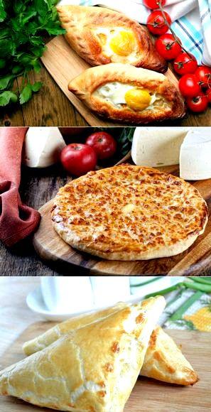 Как приготовить хачапури в домашних условиях пошаговый рецепт с фото кисломолочных продуктах, из слоёного теста