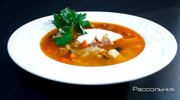 Как сварить рассольник с перловкой и солеными огурцами свой вариант этого своеобразного супа