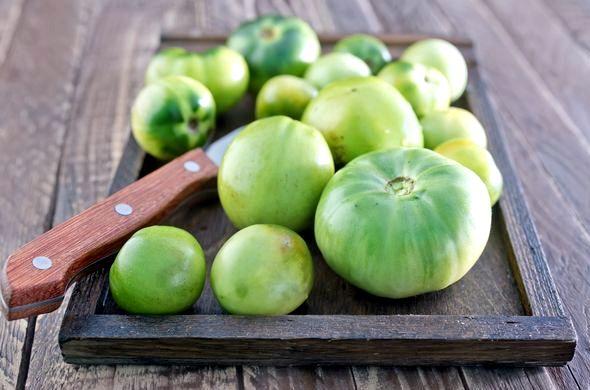 Как засолить зеленые помидоры в ведре холодным способом эта закуска из