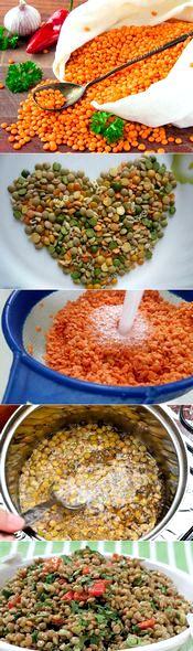 Котлеты из чечевицы рецепты просто и вкусно чечевицу отваривают