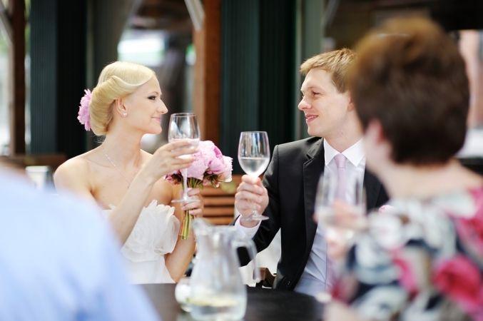 Оригинальное поздравление на свадьбу
