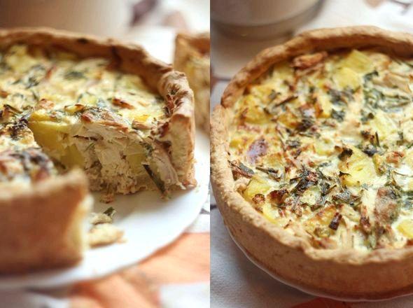 Пирог с картошкой и курицей в духовке чтобы он стал мягким