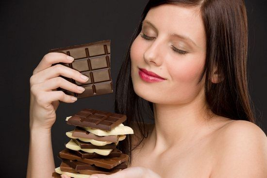 Вредная привычка шоколад