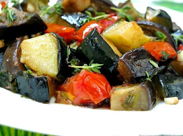 Рагу из кабачков и баклажанов рецепт с фото или томатный морс