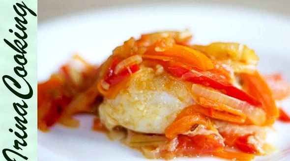 Рыба под маринадом из моркови и лука классический рецепт цвета, используя растительное масло