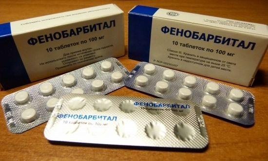 """Список снотворных препаратов для пожилых людей, отпускаемых по рецепту: """"Фенобарбитал"""""""