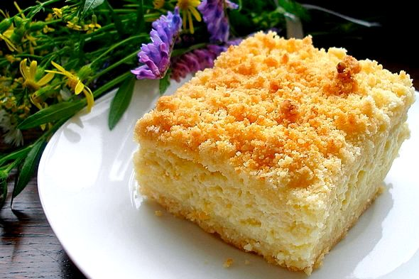 Творожный кекс самый вкусный рецепт в духовке Маленький пакет ванили