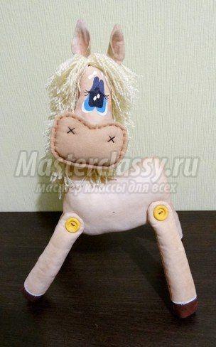 текстильная лошадка своими руками: мастер-класс