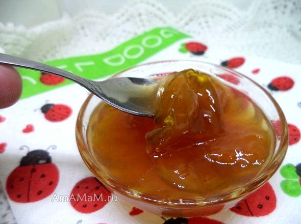 Варенье из желтой сливы без косточек простой рецепт сливово-яблочной массе