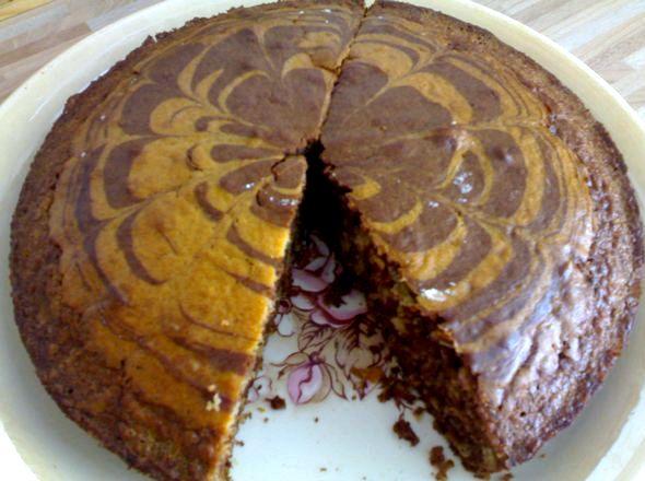 Зебра пирог на кефире рецепт с фото При этом здесь нет никакого
